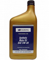 Subaru Synthetic Motor Oil SAE 5W-30 0.946L